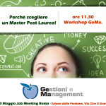 Job Meeting Roma Workshop GeMa
