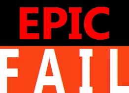 Epic fail di social media marketing