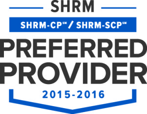 SHRM Preffered Provider Seal