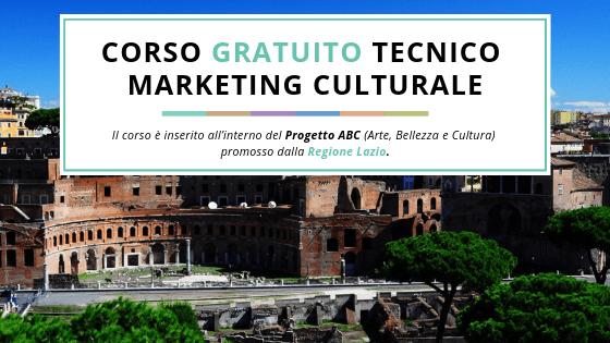 Corso TECNICO MARKETING CULTURALE: pubblicata la Graduatoria