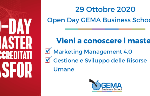 D-Day Master Accreditati ASFOR – Quarta Edizione: I Master GEMA Business School