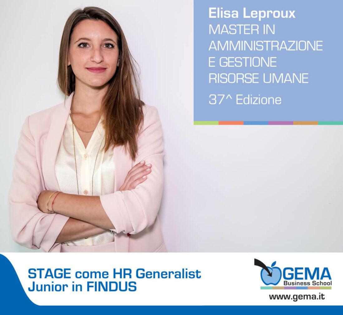 Master GEMA in Risorse Umane: l'esperienza di Elisa Leproux