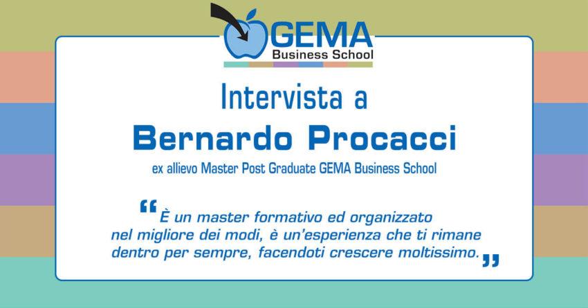 Master GEMA: l'opinione di Bernardo Procacci