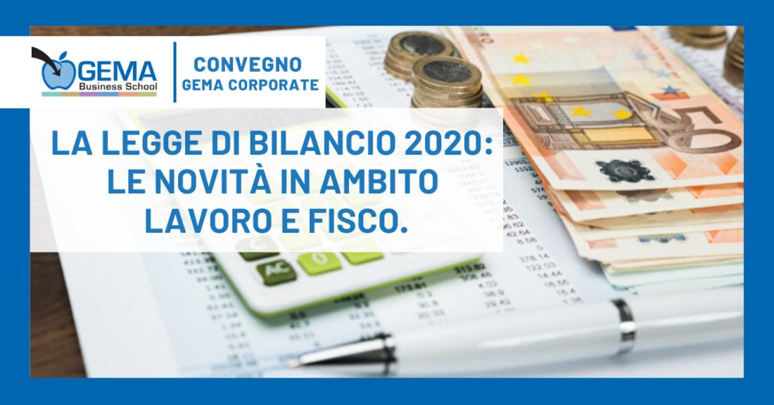 Legge di Bilancio, quali novità per il 2020?