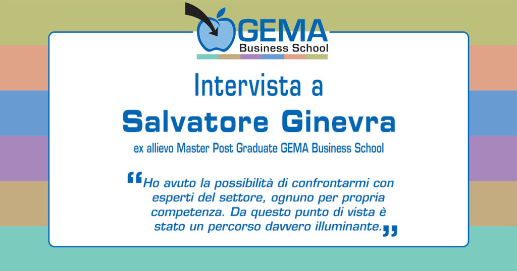 Master GEMA in Marketing: l'opinione di Salvatore Ginevra