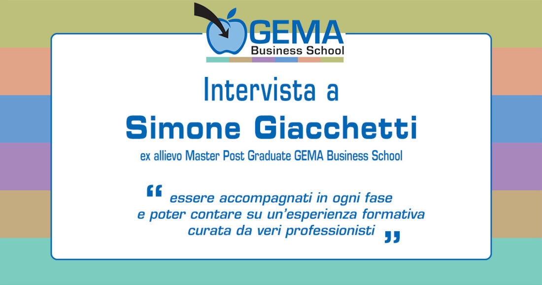 Master GEMA in International Marketing Management: l'opinione di Simone Giacchetti