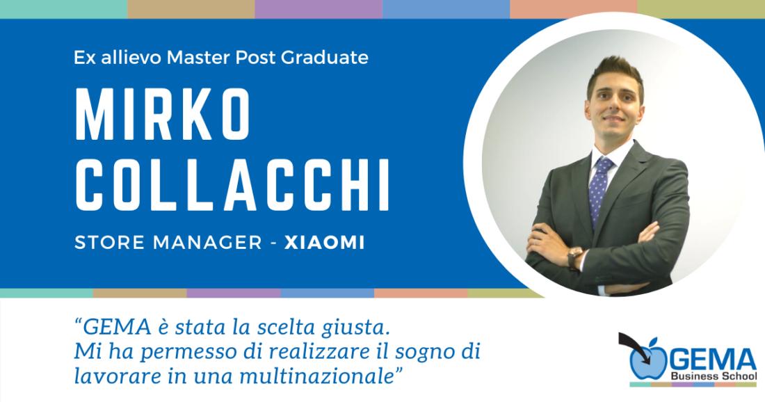 Opinione Master Marketing Mirko Collacchi