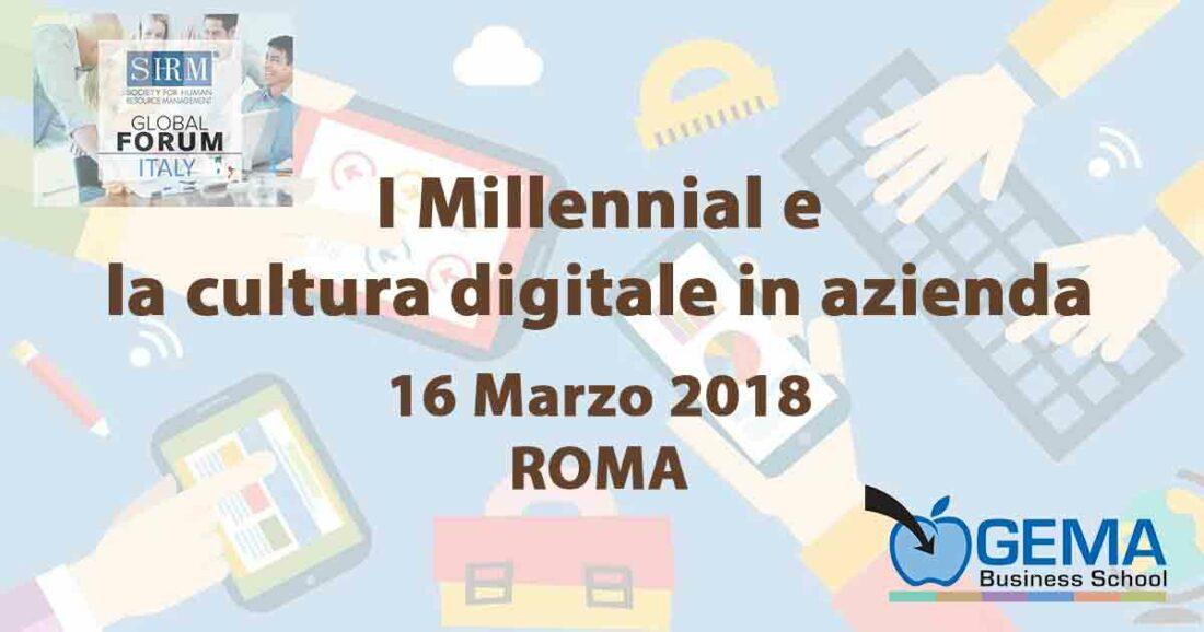 I Millennial e la cultura digitale in azienda