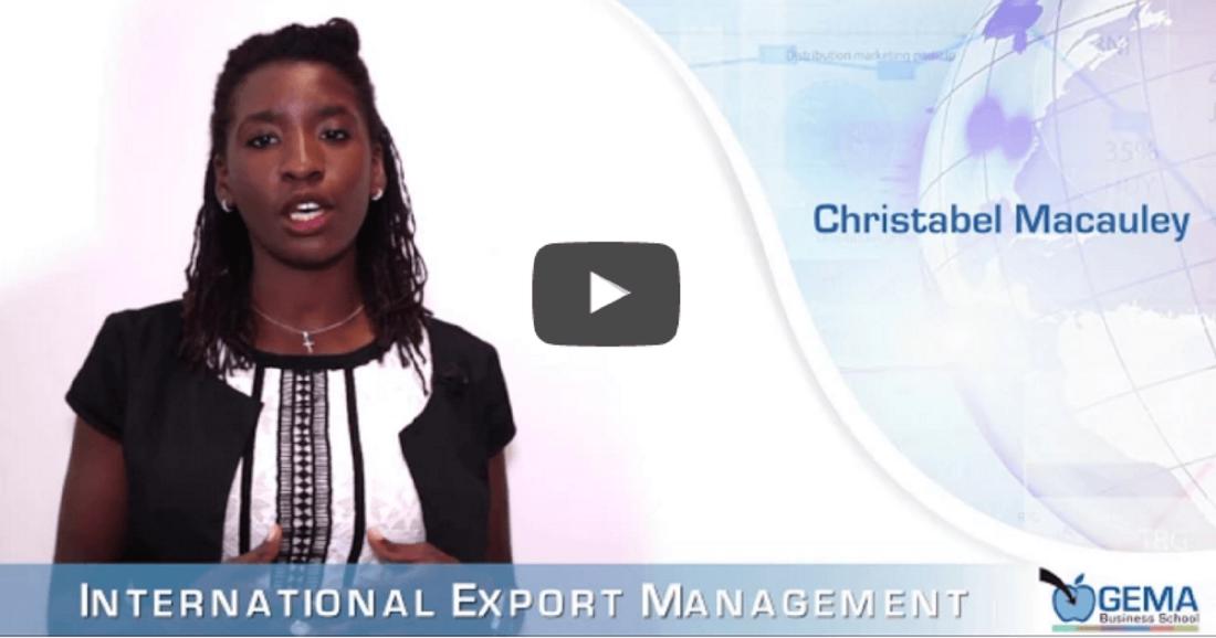 Master GEMA in International Export Management – Intervista a Cristabel Macauley