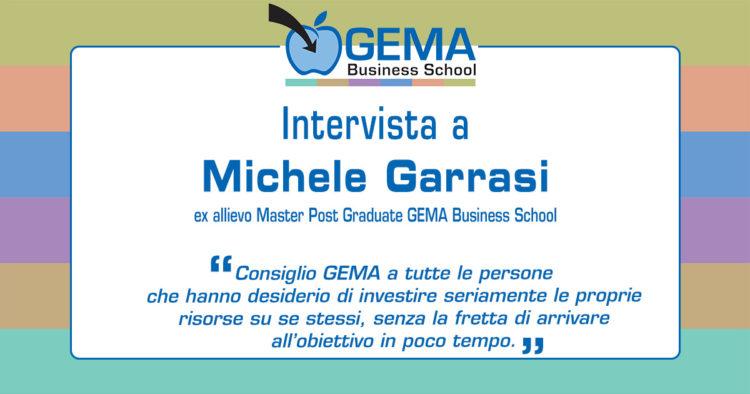 Master GEMA in Risorse Umane: l'opinione di Michele Garrasi