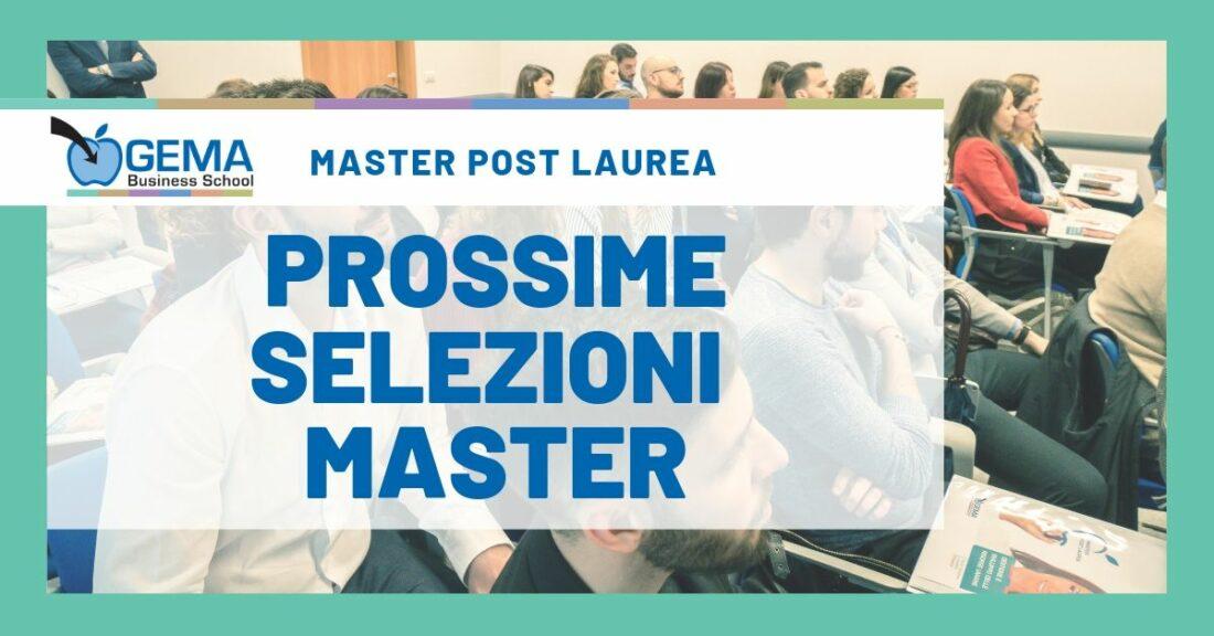 Edizione 2019 – Master Post Laurea in Marketing e Risorse Umane.