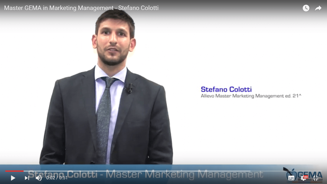Master GEMA in Marketing Management – l'esperienza di Stefano Colotti e Lina Resta